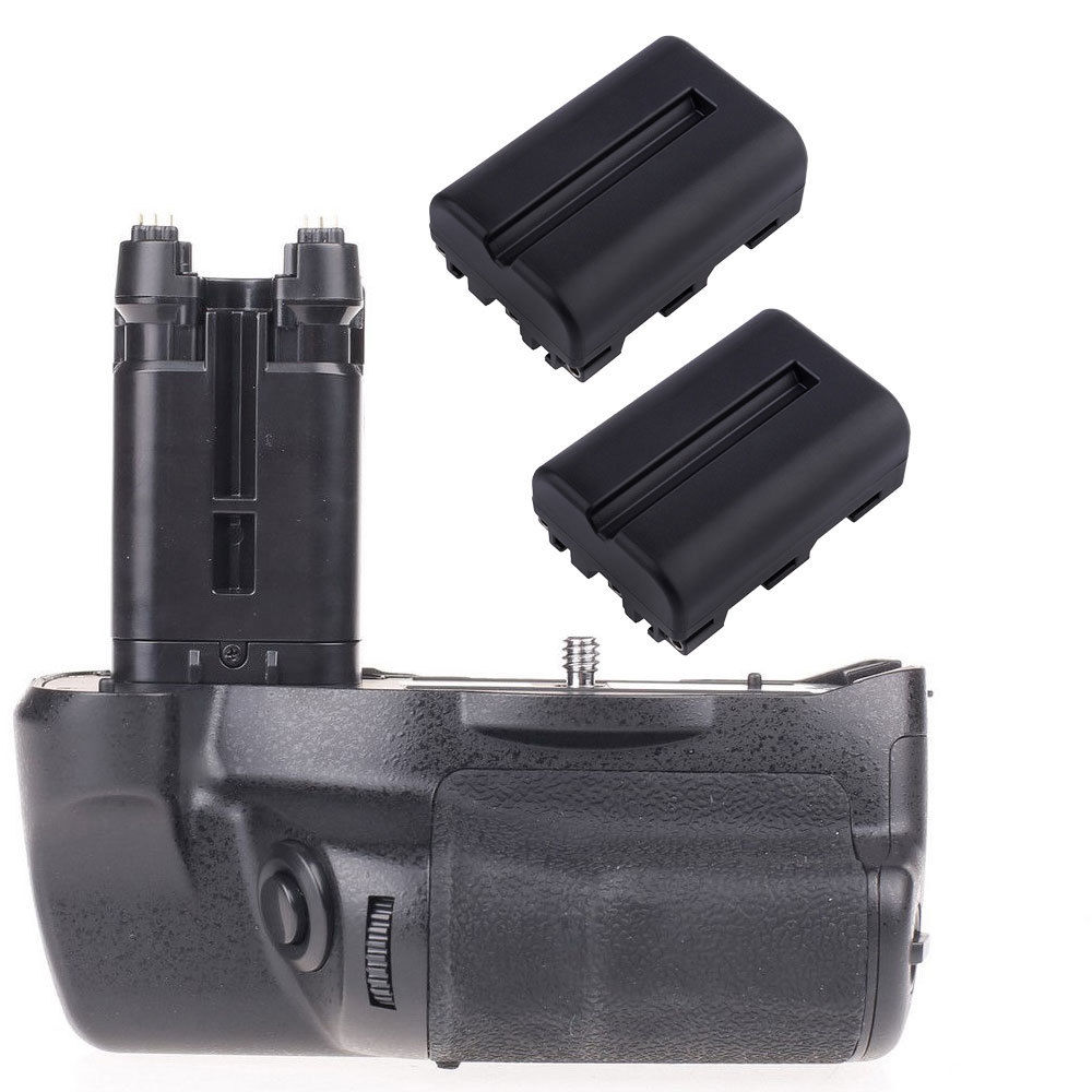 JinTu Battery Grip as VG-C77AM +2pcs NP-FM500H battery For Sony STL-A77 A77V A77 II A99 II SLR Camera W/ 2-step shutter button free shipping 95%new camera shurrer unit for sony slt a77 ii a77m2 a77 m2 shutter box plate replacement repair part