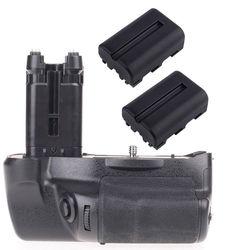JinTu Battery Grip as VG-C77AM +2pcs NP-FM500H battery For Sony STL-A77 A77V A77 II A99 II SLR Camera W/ 2-step shutter button