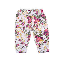 Toddler Kids Baby Girls Floral Printed Harem Pants Trousers Leggings Clothes Daily Casual Brief Girl Soft Pant Clothing