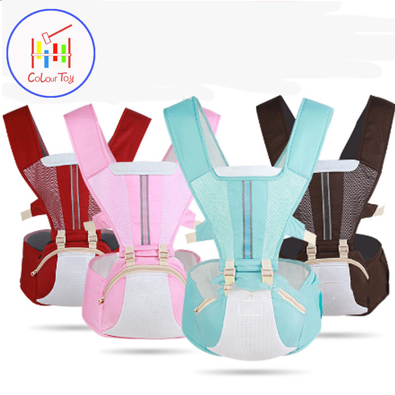 Baby Carrier With Hip Seat 8 Position Carrier Backpack For