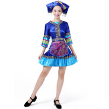 miao clothing for women minority clothing minority dance costume for women festival clothing festival supplies