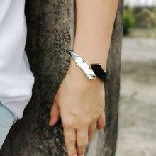 MANILAI Mischfarbe Legierung Manschette Armbänder Für Frauen Mode Metall Aussage Armreifen Armbänder 2020 Schmuck Geschenk