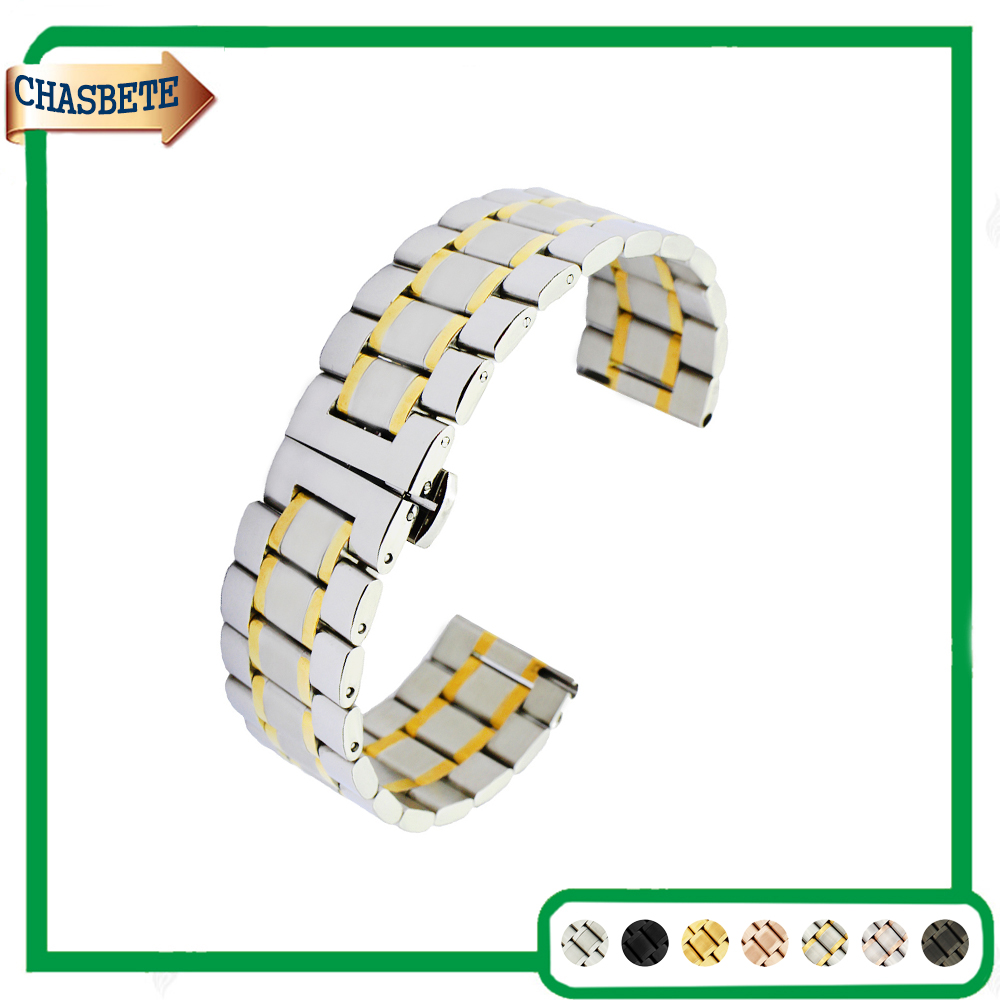 Stainless Steel Watch Band for Fossil 20mm 22mm Quick Releas