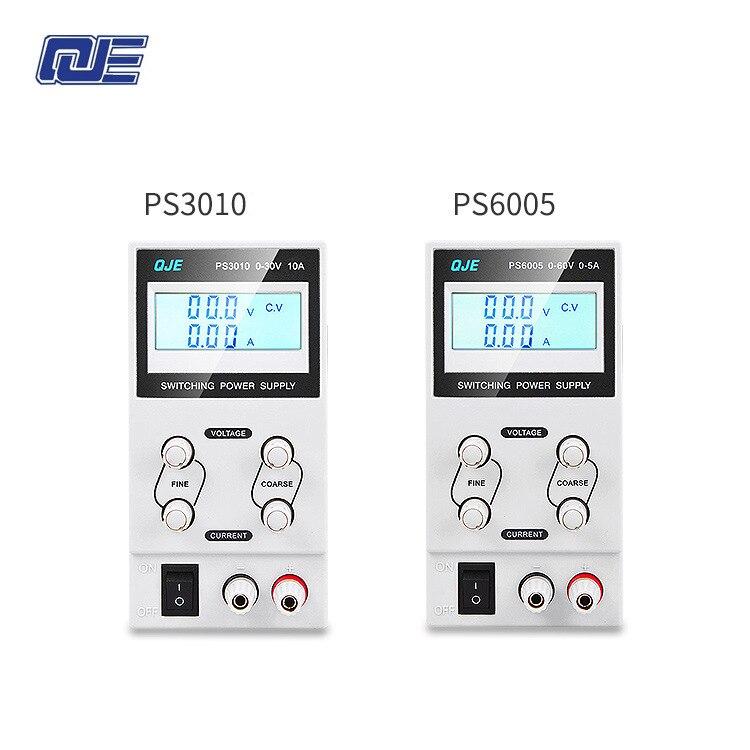 QJE PS3003/PS3005/PS6005/PS3010 Professionnel LCD Numérique Réglable DC Alimentation Laboratoire Alimentation à découpage