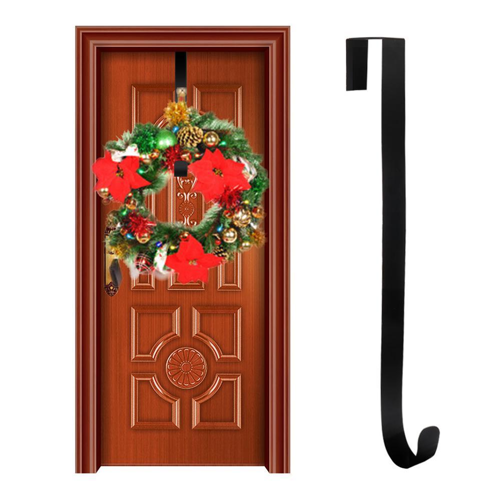 15 Inch Metal Wreath Hanger Christmas Wreath Hook Kitchen Home Wall