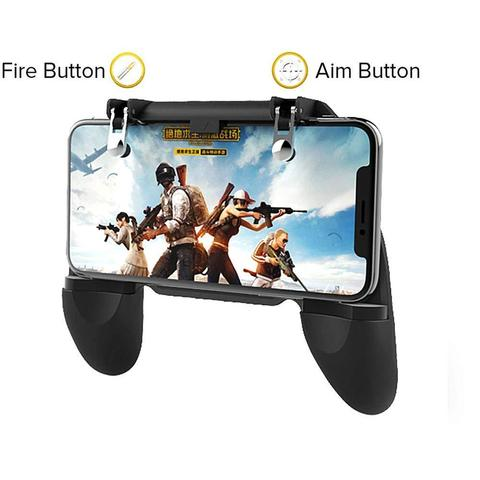 New Gamepads PUBG Mobile Game Controller Trigger Aim Button L1 R1 Shooter Joystick for Iphone X Samsung Phone Game Accesorios Karachi