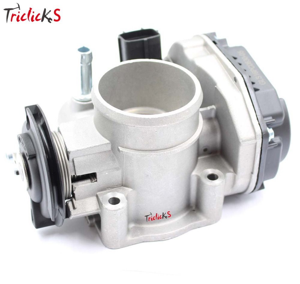 Triclicks 96394330 96815480 Throttle Body Assembly Air Intake System For Chevrolet Lacetti Optra J200 Daewoo Nubira 1.4i 1.6i lzone racing new throttle body for rsx dc5 civic si ep3 k20 k20a 70mm cnc intake throttle body performance jr6951