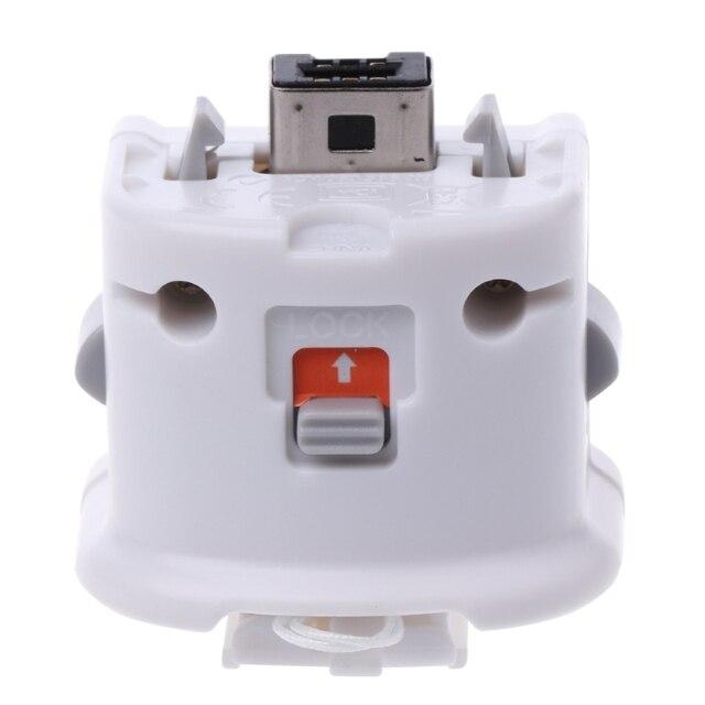1P akcesoria do gier 1PC zewnętrzny Motion Plus adapter czujnik do pilota zdalnego sterowania