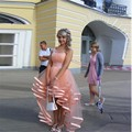 Precioso 2016 de Un Hombro Alto Bajo Vestidos de Baile Trasero Largo Delantero Corto de Graduación Vestidos para Adolescentes ballkleider