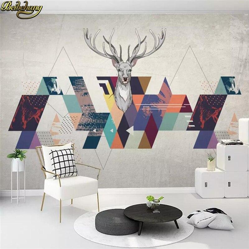 Beibehang Custom Modern Wallpapers For Living Room Nordic