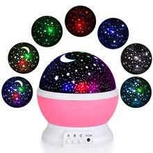 Kohreeโปรเจคเตอร์MoonโคมไฟLed Light NightหมุนSpin Starry Skyดาวเด็กทารกSleepโรแมนติกUSBชาร์จ