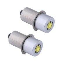 2 قطعة P13.5S قاعدة PR2 عالية الطاقة LED ترقية لمبة ل Maglite ، استبدال لمبات Led تحويل عدة Fot C/D مشاعل الشعلة