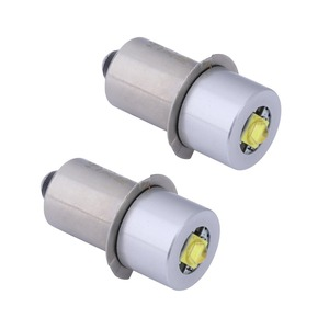 Image 1 - 2PCS P13.5S Base PR2 High Power LED Upgrade Bulb for Maglite, Replacement Bulbs Led Conversion Kit Fot C/D Flashlights Torch