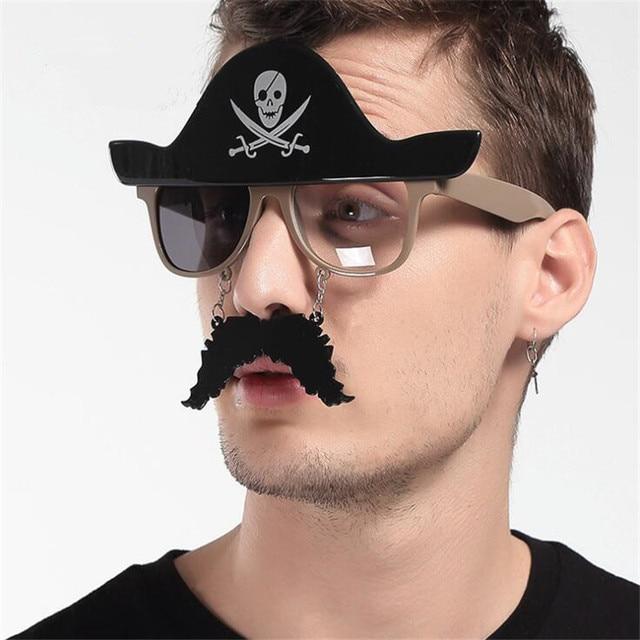 Пиратские очки для карнавала в ассортименте 1