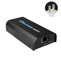 120m 1080p Electronic Network Extender HDMI Ethernet Over IP Transmitter Receiver Splitter RJ45 Digital For DVD Signal HD