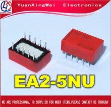 10pcs/lot  NEW EA2 5NU EA2 5 2 5NU EA2 5NU EA25NU 5VDC DC5V 5V DIP10