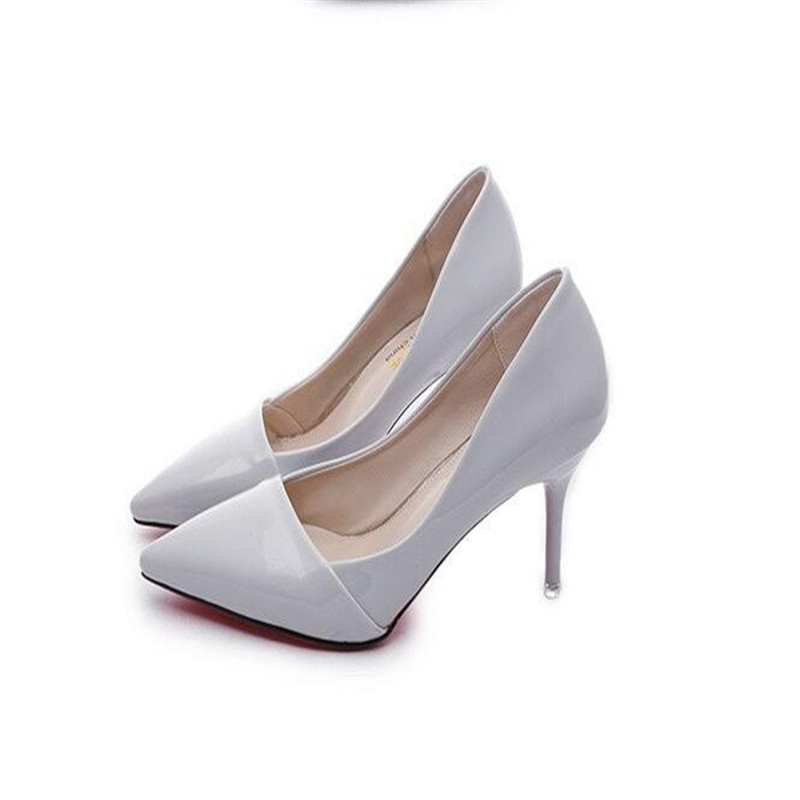 Spring and Autumn new women s shoes wild sexy naked high heeled shoes with thin bride