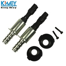 FREE SHIPPING -King Way- 2 PCS Pair Variable Camshaft Timing Solenoid VCT w/ Seal For 2004-2008 Ford 5.4L 3V(China)