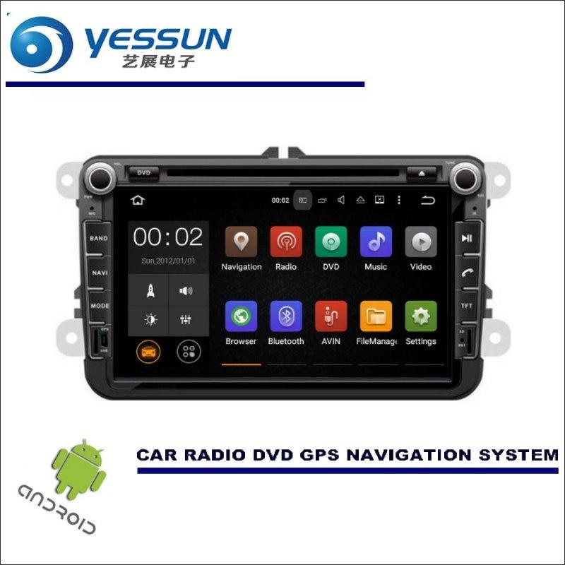 YESSUN Car Multimedia Navigation For VW Transporter / Caravelle Multivan Doubleback CD DVD GPS Player Navi Radio Stereo Android