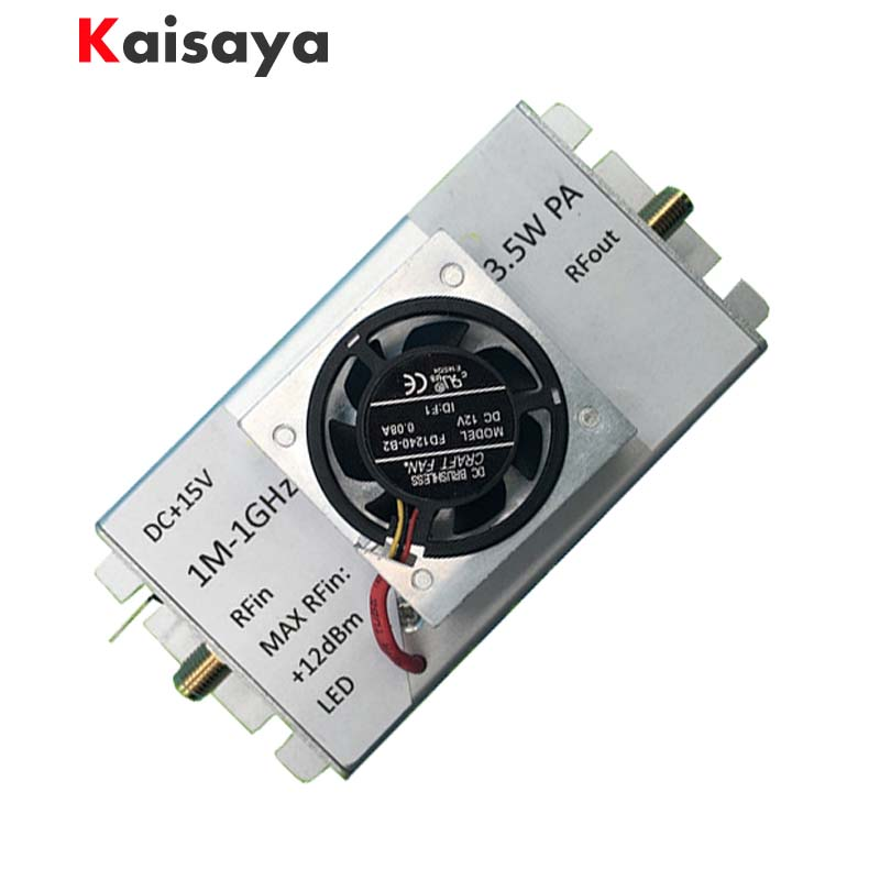 new 1M-1000MHz 3.5W Amplifier HF FM VHF UHF FM Transmitter Broadband RF Amplifier new 1m 1000mhz 3 5w amplifier hf fm vhf uhf fm transmitter broadband rf amplifier