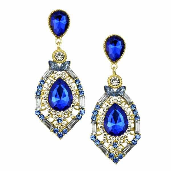 Aliexpress.com : Buy Teardrop Crystal Chandelier Earring For Woman ...