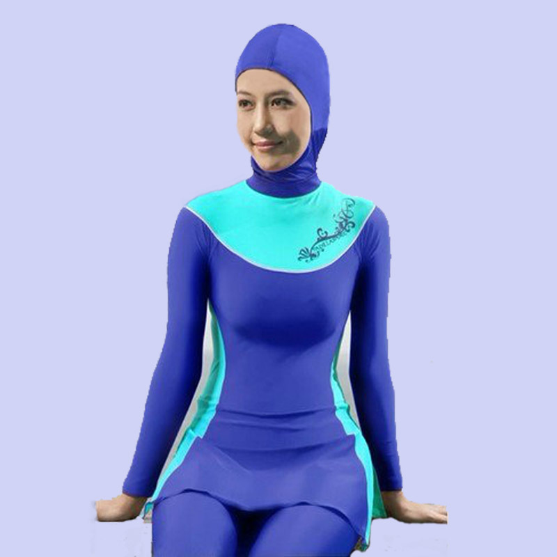 0efe932d1b40f Full Cover Modest Swimwear Islamic Swimsuit Beachwear Jewish Hindu ...