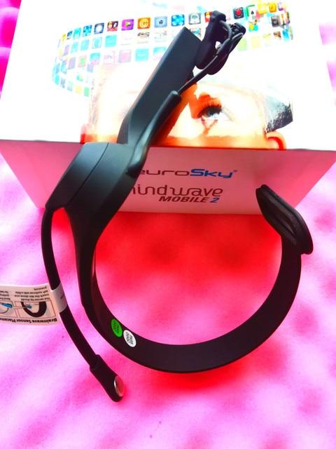 KCC-CRM-XG9-MW003 NeuroSky MindWave Mobile 2 Bluetooth Brain Wave Headset