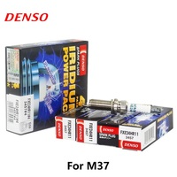 4pieces/set DENSO Car Spark Plug For NISSAN GTR G25 NISSAN Teana M37 Double Iridium FXE24HR11