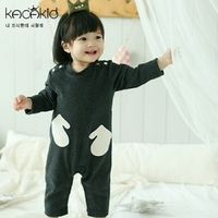 Baby Long Sleeved Bodysuit Newborn Cotton Underwear Kids Cute Bats Lightning Gloves Pajamas Clothes