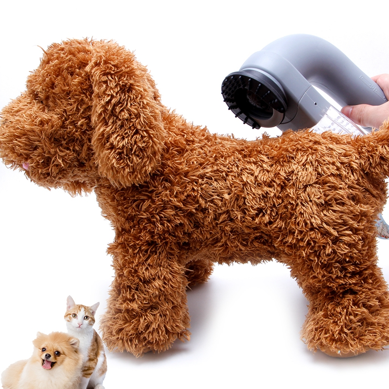 Gato gatito mascota pelo removedor Grooming cepillo aspirador Trimmer Grooming piel limpia Perros Gatos alimentación