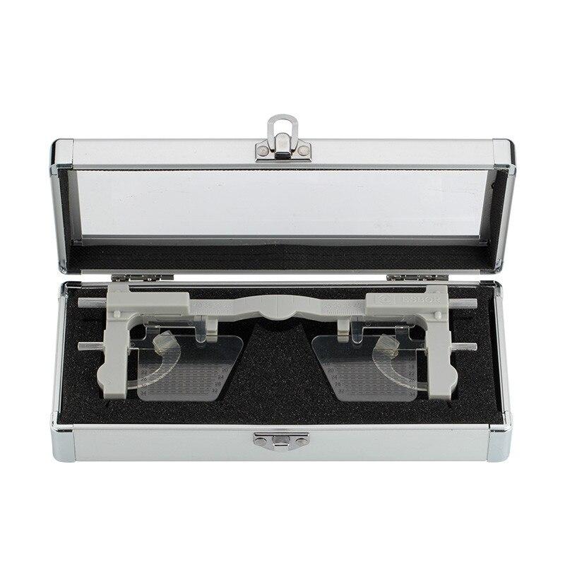 Adjustable Pupilometer PD PH Pupil height distance Meter Glasses Ruler Optical Tool Ophthalmic Eyesight Test instrument