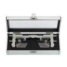 قابل للتعديل pupilmeter PD & PH تلميذ ارتفاع مقياس مسافات نظارات حاكم أداة بصرية العيون البصر اختبار