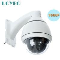 Cctv güvenlik 1080 P HD AHD Kamera PTZ açık mini speed dome pan tilt 4x zoom video gözetim RS485 2mp ahd 2000TVL PTZ kam