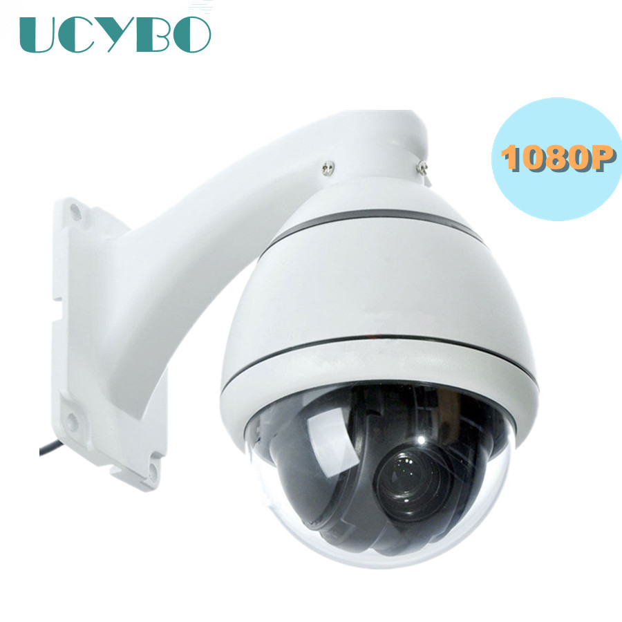 CCTV-Sicherheit 1080P HD AHD Kamera PTZ Outdoor Mini Speed ​​Dome Pan Tilt 4x Zoom Videoüberwachung RS485 2mp ahd 2000TVL PTZ Cam