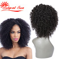human hair short wigs for black women short lace front wigs human hair lace frontal wig with baby hairs deep curly 150% density