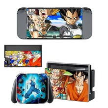 New Dragon Ball Skin Sticker For Nintendo Switch NS Console Gamepad Controller Nintendoswitch Game Sticker Vinyl Decal Cover