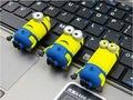 2015 Despicable Me RBT Capacidade Real de Alta Velocidade 8 GB 16 GB 32 GB Pen Drive Pendrive USB Flash Drive para PC