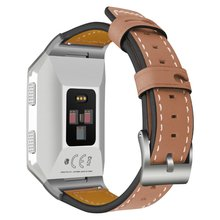 Genuine Leather Replacement Straps for Fitbit Ionic Smart Fitness Watch