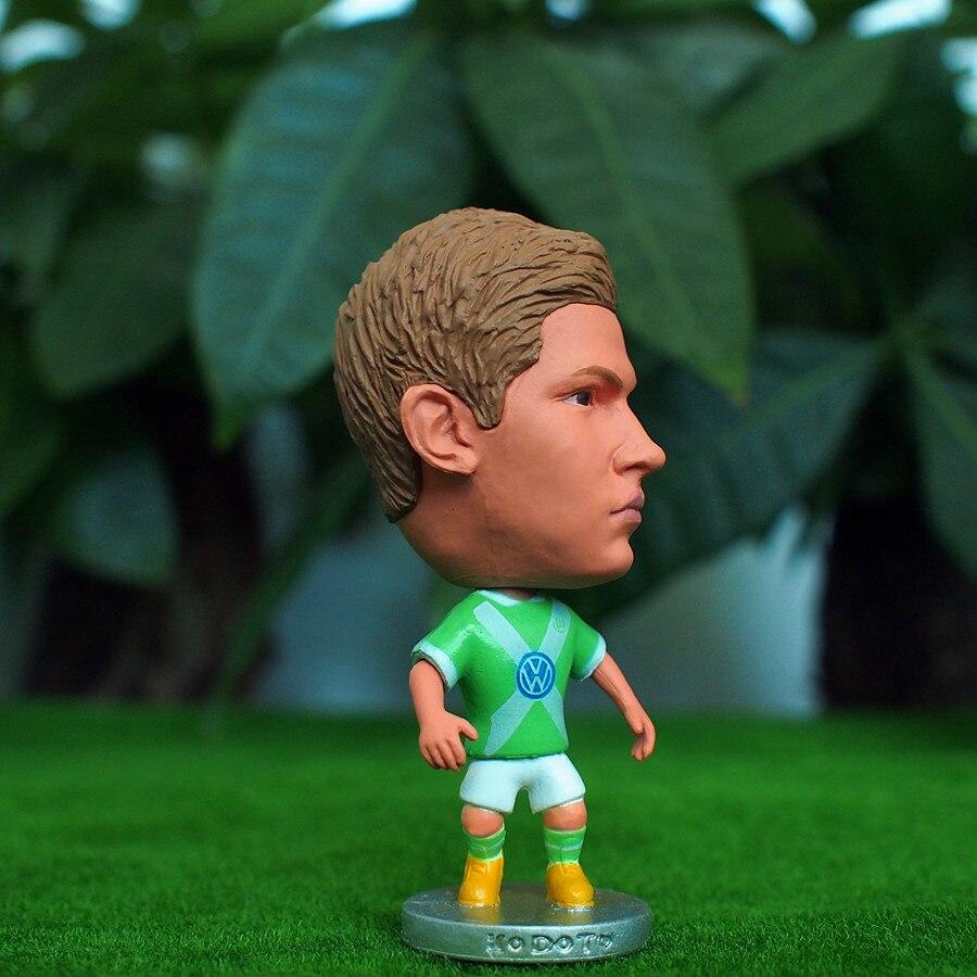 Soccer Star 14# DE BRUYNE (WOL-2015) 2.5 Action Dolls Figurine