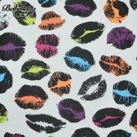 Personalized KTV Bar Nightclub Box Wallpaper Papel De Parede Color Lip Lipstick Mouth Print Sofa Bar