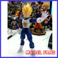 "FÃS MODELO ""IN-STOCK"" Datong dt shf modelo versão chinesa SHF Dragon Ball Z Super Saiyan Vegeta Action Figure frete grátis"