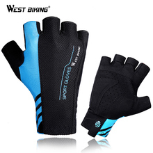 Half-Finger-Gloves West-Biking Guantes-Ciclismo Cycling Road Sports Women Summer MTB