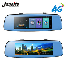 """Jansite 4 г WI-FI Видеорегистраторы для автомобилей 7.84 """"GPS touch ADAS автомобиля Камера удаленного Мониторы зеркало заднего вида Android 5.1 Dual объектив 1080 P видеорегистратор"""