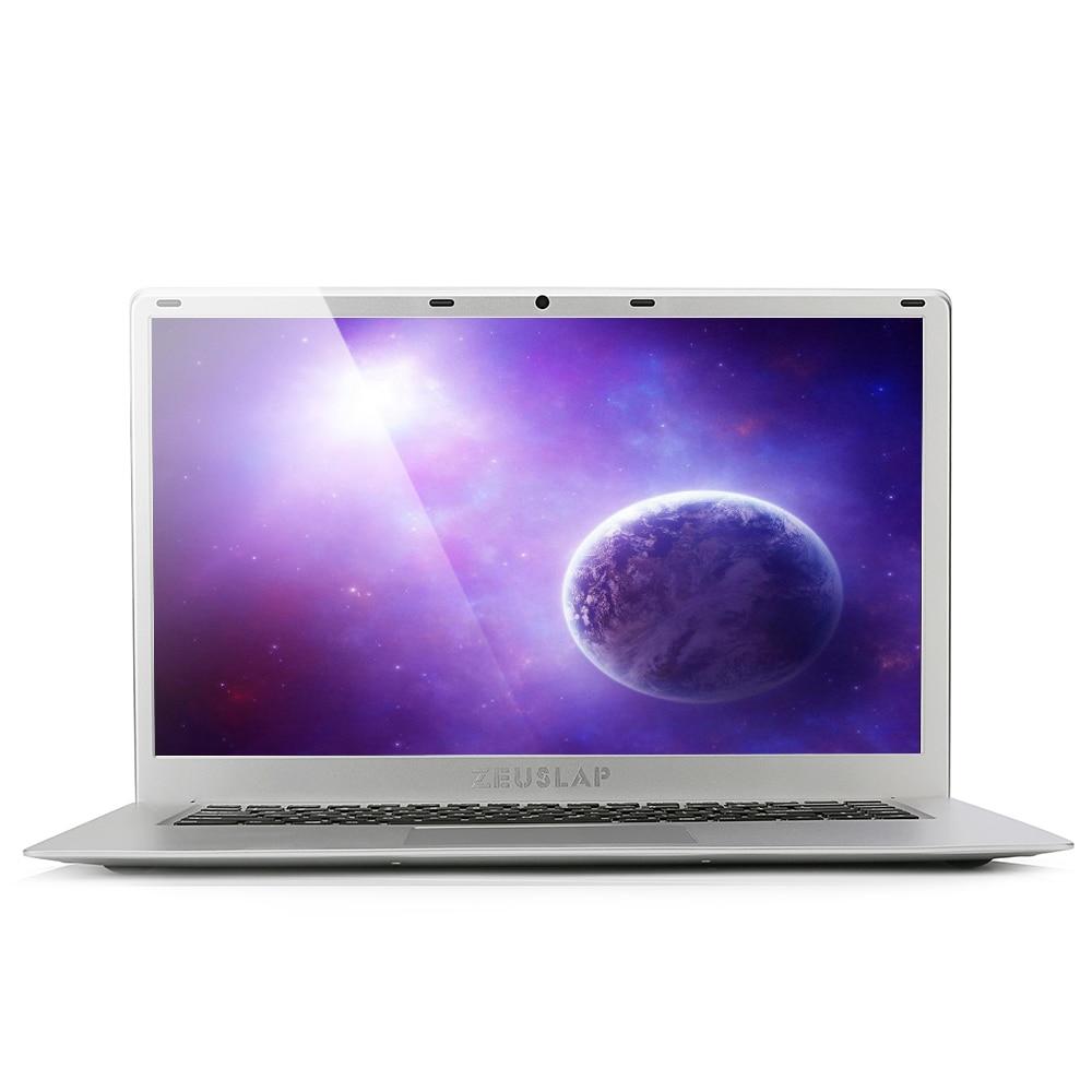 ZEUSLAP 15.6inch 6GB Ram 256GB SSD Windows 10 Intel Apollo Lake Quad Core CPU 1920*1080P F