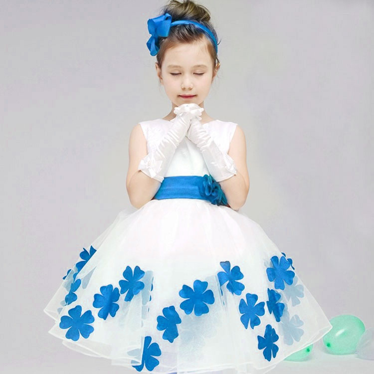 Summer Flower Girls Dresses Formal Top Quality Wedding Party