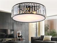 American Style Ceiling Lamp Country Living Room Crystal Lamp Modern Simplicity Iron Art Lighting SJ22