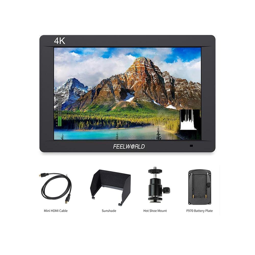 FW703 7 4K 3G-SDI Camera Video Monitor+HDMI Input Output IPS Full HD 1920x1200 LCD for DJI Ronin ZHIYUN Gimbal Stabilizer Rig