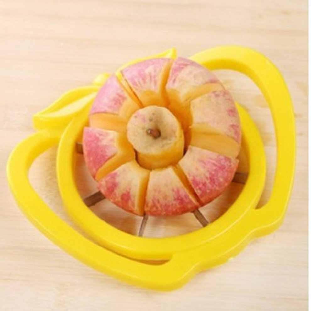 Ze stali nierdzewnej owoce jabłko gruszka krajalnica do łatwego cięcia Cutter przegroda obierak do cięcia owoców wielofunkcyjny ekologiczne, łatwa do czyszczenia,