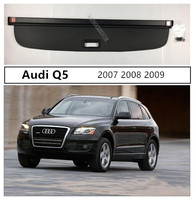 For Audi Q5 2007 2008 2009 Rear Trunk Cargo Cover Security Shield High Qualit Auto Accessories Black Beige