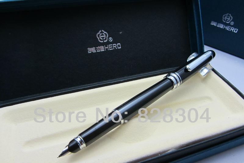 Free shipping Black fountain pen nib hero parker 88 maroon lacquer gt fine point fountain pen